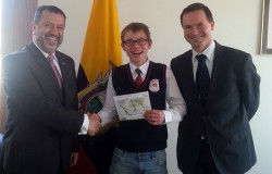 Wyprawa dookoła świata pod patronatem Ambasadora Ekwadoru