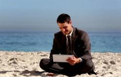 Kontakt służbowy z firmą podczas urlopu