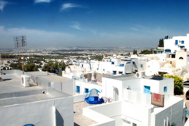 tunisia: city urban general view