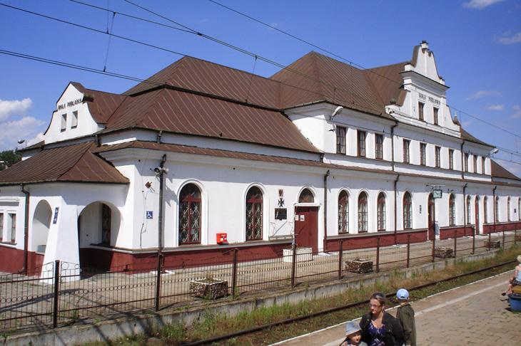 Budynek dworca w Białej Podlaskiej