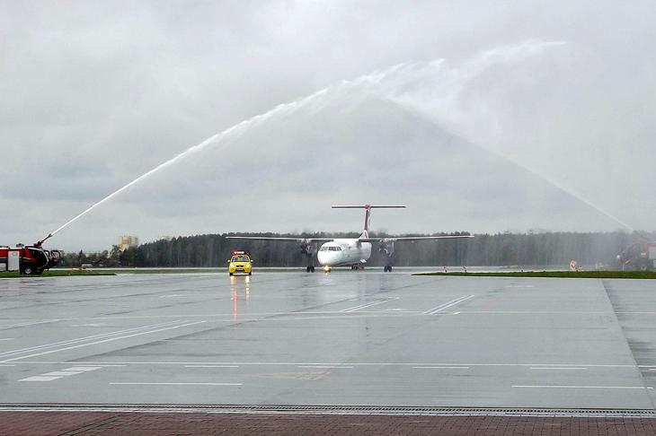14 kwietnia Eurolot zainaugurował loty z Warszawy do Bydgoszczy