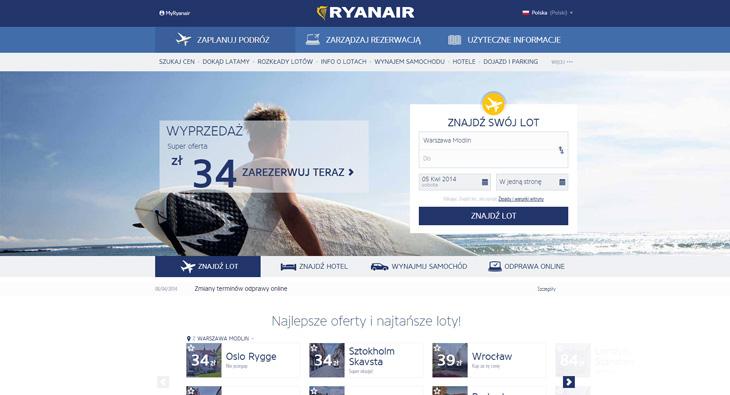 Ryanair cały czas stara się zmienić swój wizerunek
