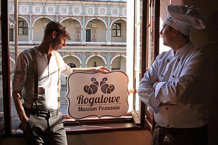 Rogalowe Muzeum Poznania to miejsce przybliżające tradycje wypieku rogali świętomarcińskich na żywo
