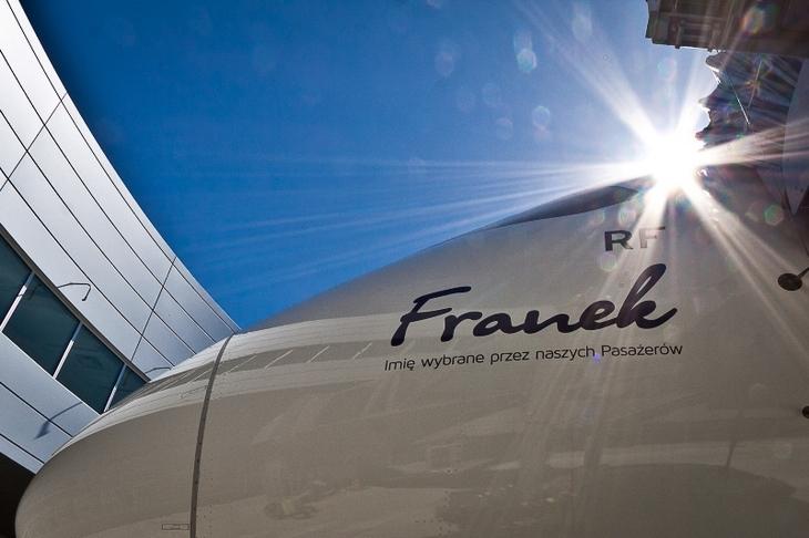 Franek Boeing Dreamliner LOT
