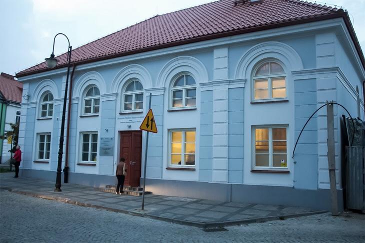 Budynek Muzeum Żydów Mazowieckich