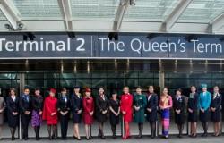 Elżbieta II otwiera Terminal 2 na Heathrow