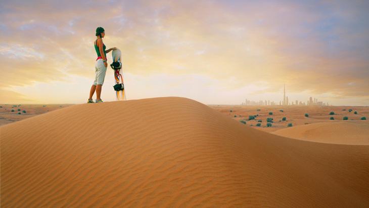 Dubaj - wydmy