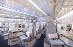 Finnair prezentuje wyposażenie kabiny A350 XWB