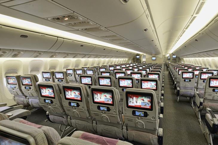 Emirates wprowadzają rozrywkę dla niedowidzących