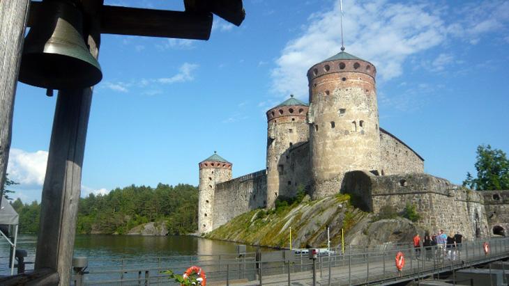Zamek Olavinlinna
