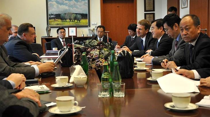 Delegacja Prowincji Hebei w Warszawie