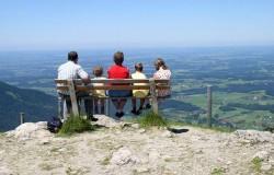 Polska rodzina na urlopie