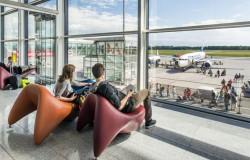 Dobre półrocze na wrocławskim lotnisku