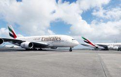 Najkrótszy lot A380 na świecie