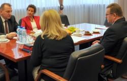 Spotkanie z konsul Niemiec w Opolu