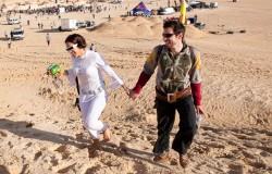 """""""Elektroniczne Wydmy"""" na tunezyjskiej pustyni"""