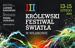 Królewski Festiwal Światła W Wilanowie