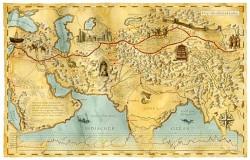 Jedwabny Szlak  – narodziny atrakcji turystycznej