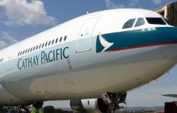 Cathay Pacific Airlines ukarane
