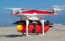 Zespół latających ratowników nad plażami