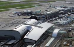 Pożar na lotnisku w Dublinie