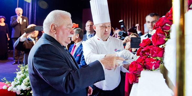 Mazurkas organizatorem urodzin Prezydenta Wałęsy
