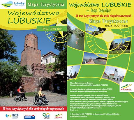 Województwo Lubuskie – bez barier 45 tras turystycznych dla osób niepełnosprawnych