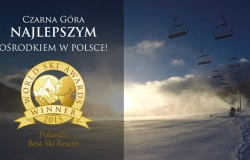 Czarna Góra polskim zwycięzcą World Ski Awards