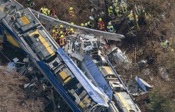 Niemcy: zderzenie pociągów