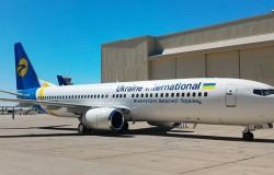 Ukraine International Airlines poleci nad Morze Czerwone