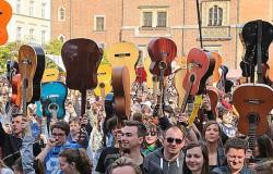 Gitarowy Rekord Guinessa we Wrocławiu 2016