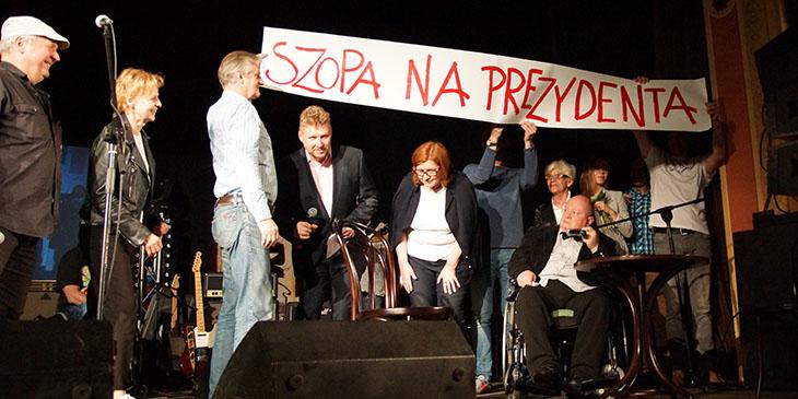 Benefis Andrzeja Szopy
