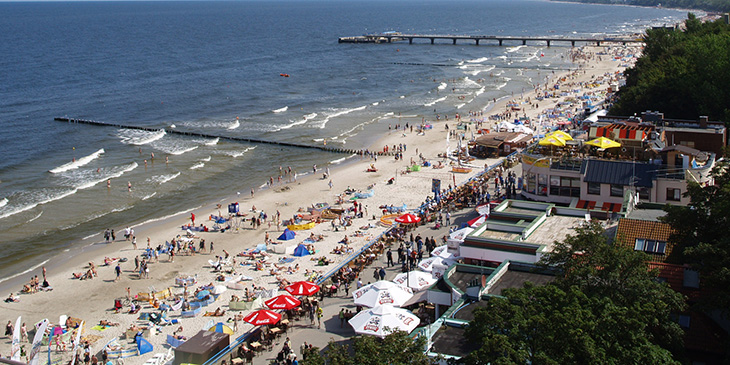 Wakacje nad Bałtykiem, Kołobrzeg