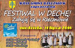 Festiwal W Dechę! Zabujaj się w Rzeczniowie