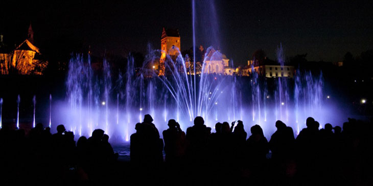 Park fontann w Warszawie