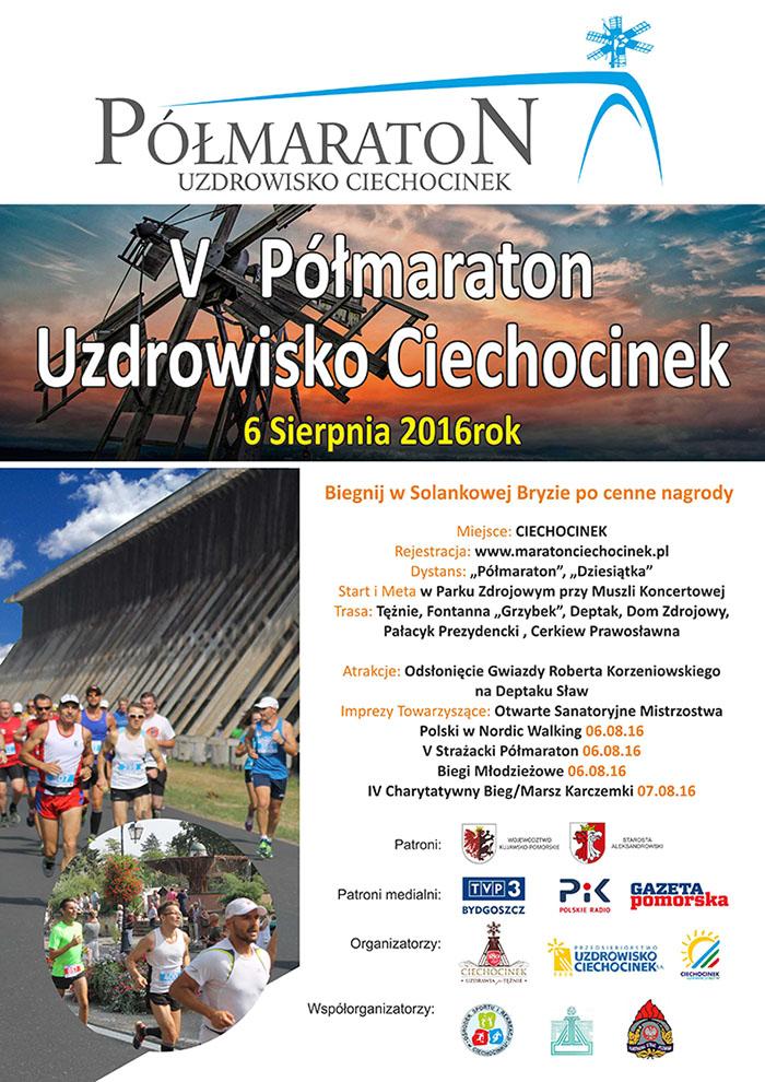 5. Półmaraton Uzdrowisko Ciechocinek