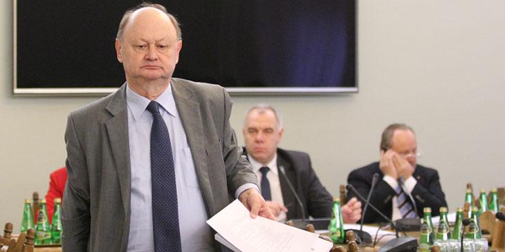 Prof. Włodzimierz Nykiel, poseł Klubu Parlamentarnego Platforma Obywatelska.