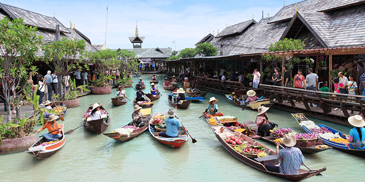Pattaya Floting Market