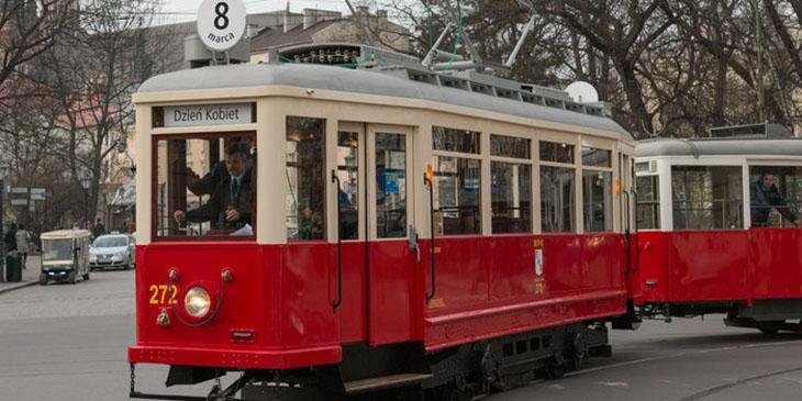 Gdański tramwaj jeździ po Krakowie