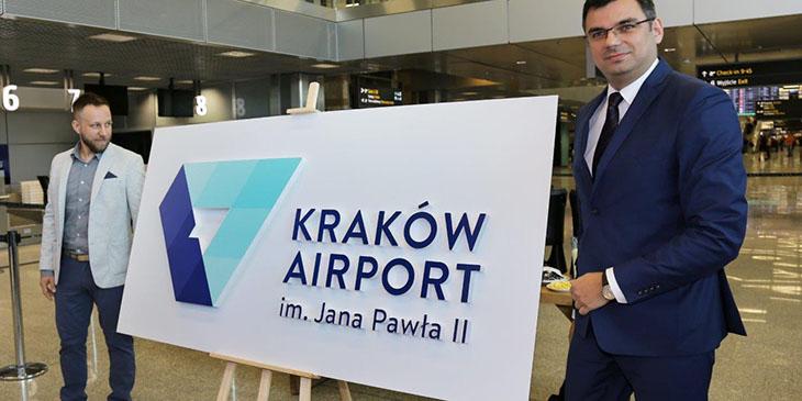 Kraków Airport przedstawia nowe logo