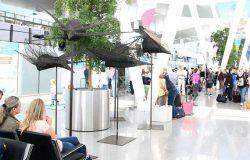 Lotniskowa wystawa wybitnej artystki