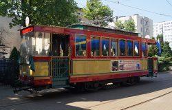 Wakacyjny tramwaj turystyczny