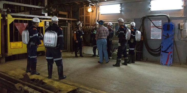 Wypadek w kopalni diamentów