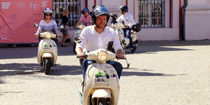 W Poznaniu wystartował scooter-sharing