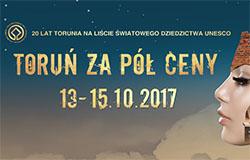 Dołącz do akcji Toruń Za Pół Ceny