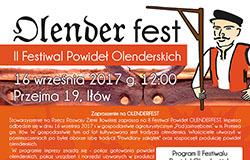 II Festiwal Powideł OLENDERFEST