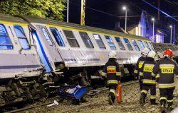 Wykolejenie pociągu relacji Gdynia Główna-Bielsko Biała