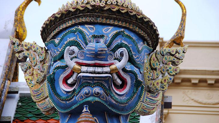 Tradycyjna maska Khon