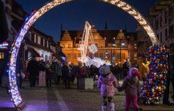Gdańsk rozświetlony świątecznie