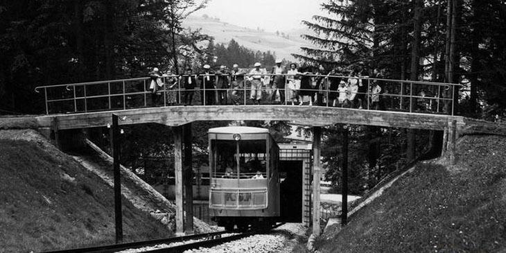 Kolejka na Górę Parkową w Krynicy-Zdroju